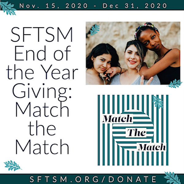 SFTSM End of the Year Giving Campaign – Match the Match