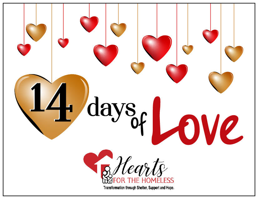 2021 Hearts for the Homeless – 14 Days of Love